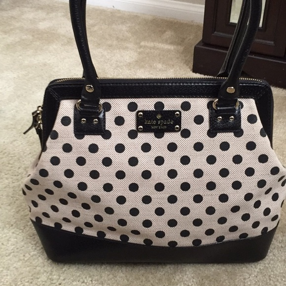 Kate spade kate spade polka dot purse from lindseys closet kate spade polka dot purse junglespirit Gallery